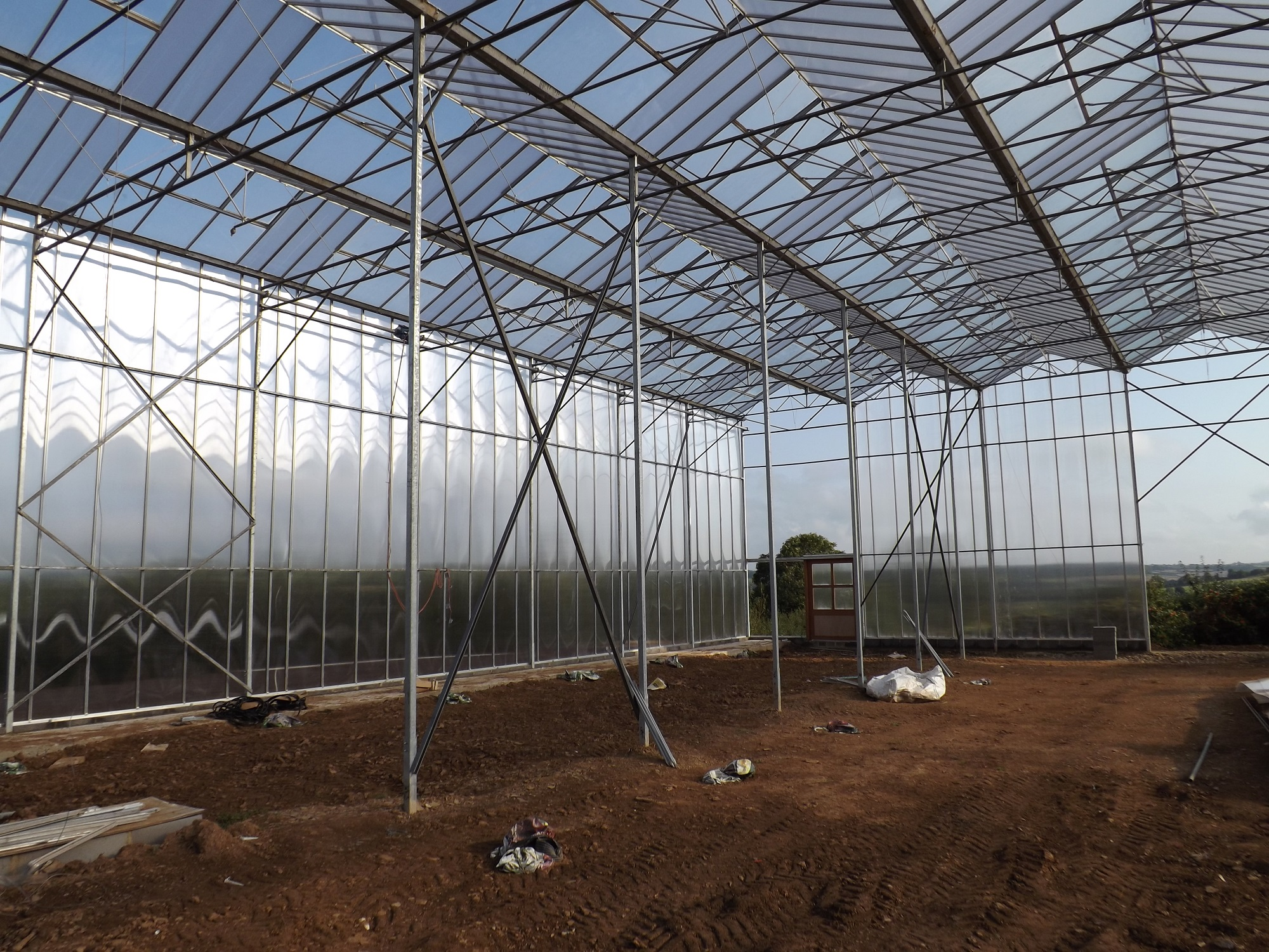 Forest Garden Greenhouse Construction – The Agroforestry